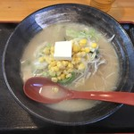 麺屋壱番 - 料理写真:味噌バターコーンラーメン
