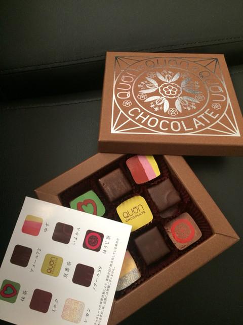 チョコレート クオン