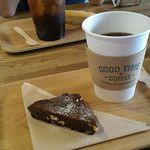GOOD TIME COFFEE - ブレンドコーヒーとチョコブラウニー