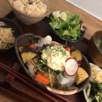 PUBLIC KITCHEN cafe - 塩麹のタルタル唐揚げ