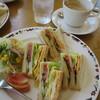 プロバンス - 料理写真:焼きタマゴのサンドセット590円
