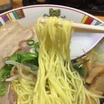 67168872 - 2017.4.22  赤穂塩らーめんの麺