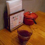 山本のハンバーグ - 野菜ジュース