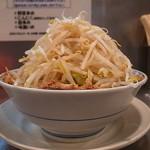 らーめん大 - らーめん(中、豚、野菜増し)