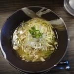 青唐爽麺 ハルク - 青唐そば(中辛)