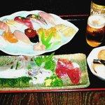江戸前きよ寿司 - 【4500円ポッキリ!!】 ビール1本、お通し、地物刺身、特選握り11貫