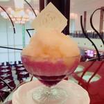 パルテール - 開業25周年記念かき氷 「Lapêcheラペーシュ」 1300円