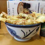 天丼てんや - 大海老穴子天丼(大盛)1,080円