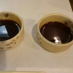 67173160 - 白焼きのしょうゆ皿(山葵、生姜用)