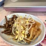 鍋竜 - 定食のナムル