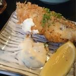 季節料理 大路 - 魚フライ