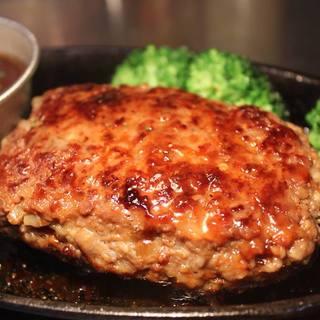 肉汁たっぷり特製ハンバーグ!!