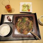 naniwaen - お好み焼きランチ 980円