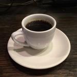 炎神 - サービスのコーヒー