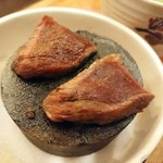 ばんや - シカ肉は石焼~