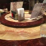 神田 天府 - 丸テーブル