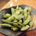 ばんや - お通しの枝豆