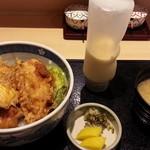 和食天ぷら さくさく - とり玉天丼900円