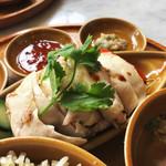 シンガポール海南鶏飯 - 海南鶏飯。