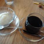 千丑茶屋 - バニラジェラートとコーヒー