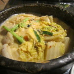 しもふらん - 豆乳チゲ鍋