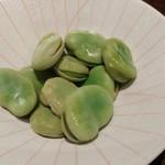 築地の貝 - そら豆