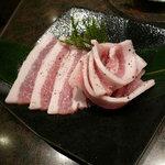 仔牛亭 - 蔵王豚バラ(680円)