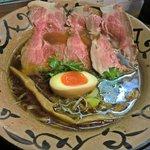ラーメン こぶ志 - 醤油系・特選こぶ志ラーメン(850円)