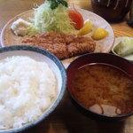 6719846 - ロースかつ定食 ¥950