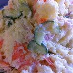 長沼精肉店 - お惣菜 野菜サラダ(ピリッと辛しがアクセント)  100g 150円