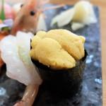 若草寿司 - 雲丹も美味かった~♫