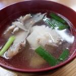 若草寿司 - 鯛だし汁