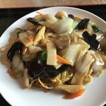 中国料理 華龍 - 五目あんかけ焼きそば(780円)