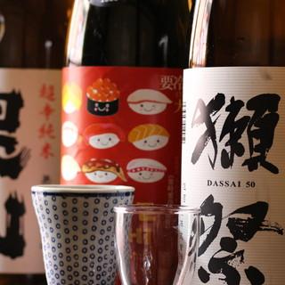 【こだわり④日本酒】試飲可能◎日本各地の日本酒一律800円