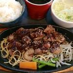 さくらみち - 白レバーステーキ 1.5倍 650円