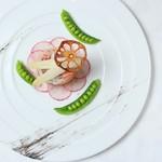 フランス料理  セルジュ&ジェーン - 海幸と人参のお菜子仕立て