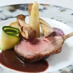 フランス料理  セルジュ&ジェーン - 子羊背肉ロティ