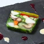 フランス料理  セルジュ&ジェーン - 地野菜15品目のテリーヌ