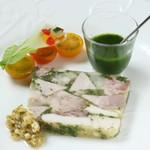 フランス料理  セルジュ&ジェーン - ジャンボン・ペルシエ