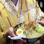 博多三氣 - ラーメン麺のチャンポン『らーちゃん』もうまかです。