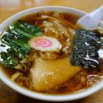 茶釜 - 小さなどんぶりに並々スープ♪
