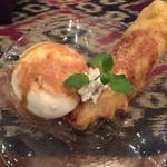 プリバディ - ビサンゴレンアイスクリーム(揚げバナナとココナッツアイス)