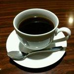 オルコット - 石焼きのホットコーヒー 390円
