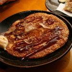 まるちょん - 山芋のお好み焼き (¥680-)