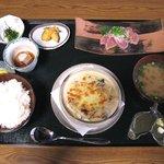 古今 - 弐の膳(サラダ、ドリンク付:1550円)