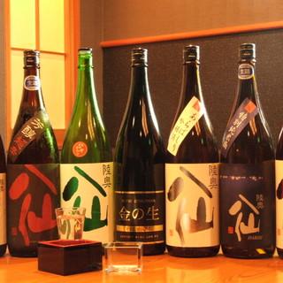 日本酒、焼酎、梅酒も豊富です!