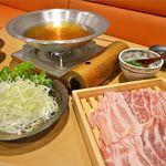 和饗 - 当店自慢の国産豚しゃぶしゃぶ