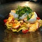 ベル・コルポ - タコと豆腐の和風サラダ