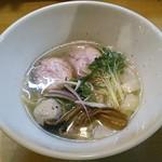 和ヌードル 鈴七 - 料理写真:【淡麗旨塩】¥750