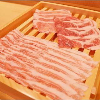 【厳選】国産豚のしゃぶしゃぶ